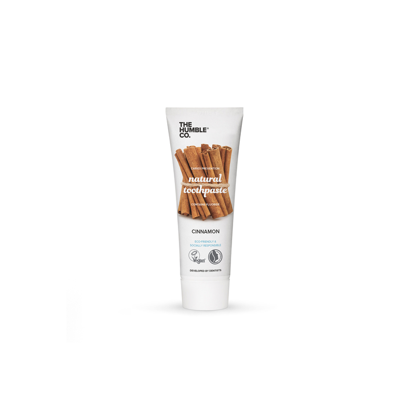 Natural Toothpaste – Cinnamon with fluoride