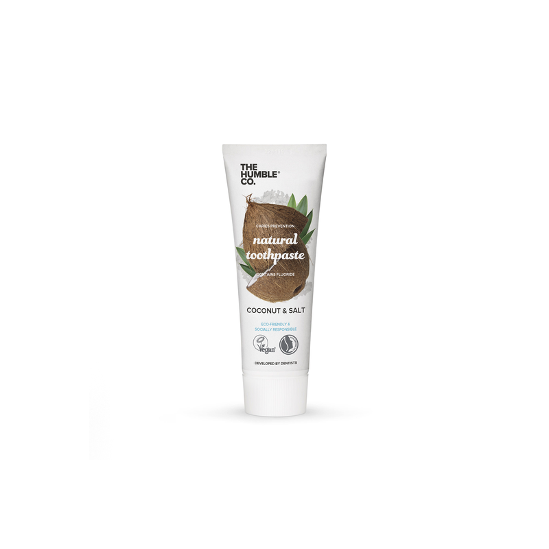 Natural Toothpaste – Coconut & Salt with fluoride